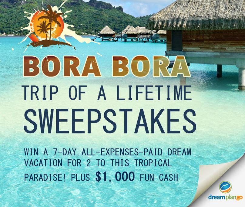 The Bora Bora Mermaid Getaway Sweepstakes