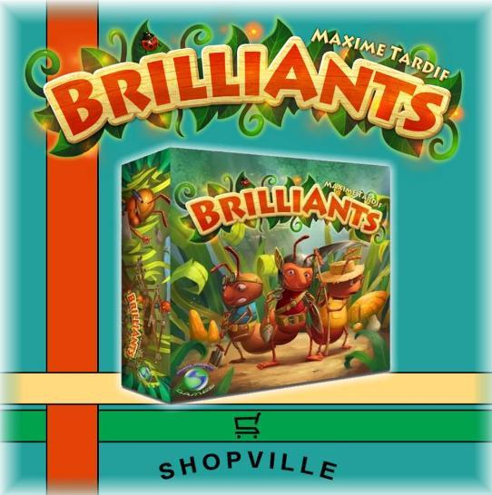 Brilliants Board Game Giveaway