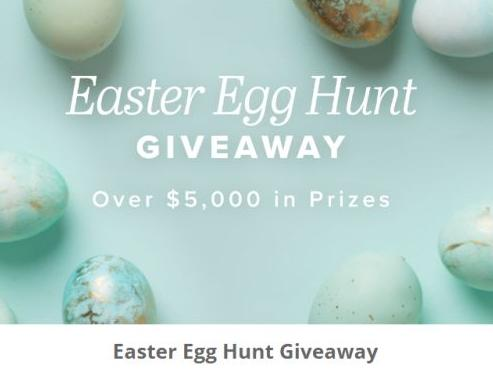 Easter Egg Hunt Giveaway Sweepstakes – Win a $50 Jane Gift Card, an Apple Watch, $75 Mystery Prize Pack