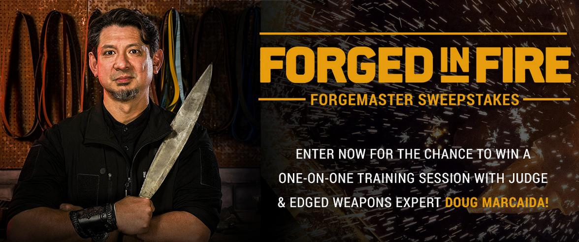 Forged In Fire Forgemaster Sweepstakes