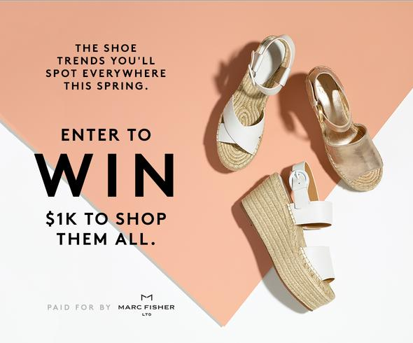 Marc Fisher Spring Fashion Sweepstakes
