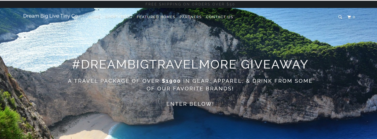 DreamBigTravelMore Prize Package Giveaway