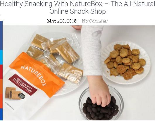 The NatureBox Giveaway – Chance to Win NatureBox $50 Credit+ Lifetime Membership