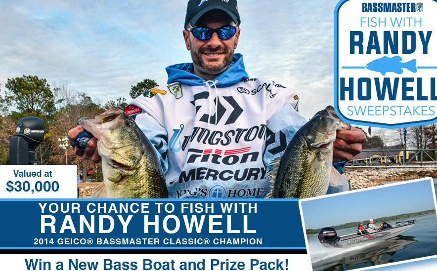 The Fish with Randy Howell Sweepstakes – Chance to Win A Trip Prize