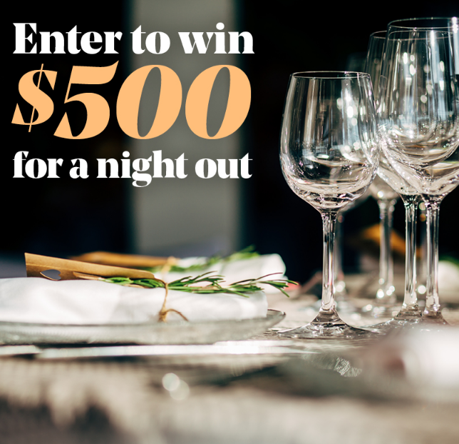 A Night Out On Sevenfifty Sweepstakes