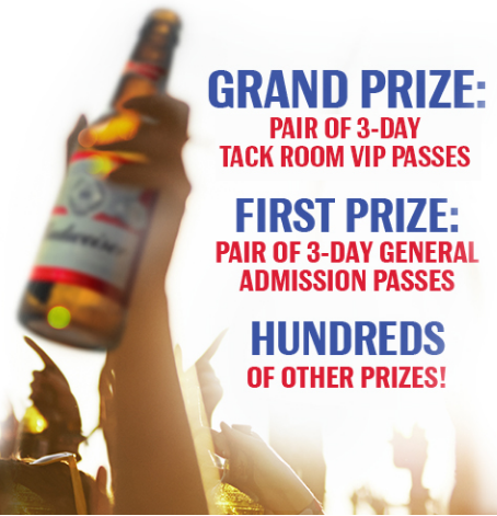 Budweiser Festival Instant Win Game Giveaway