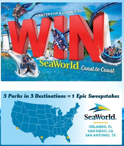 Coca-Cola And SeaWorld At Regal Cinemas Instant Win Game - Win Trip