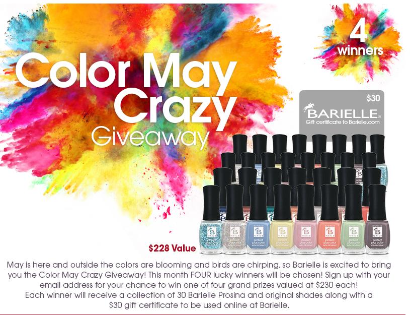 Color May Craze Giveaway