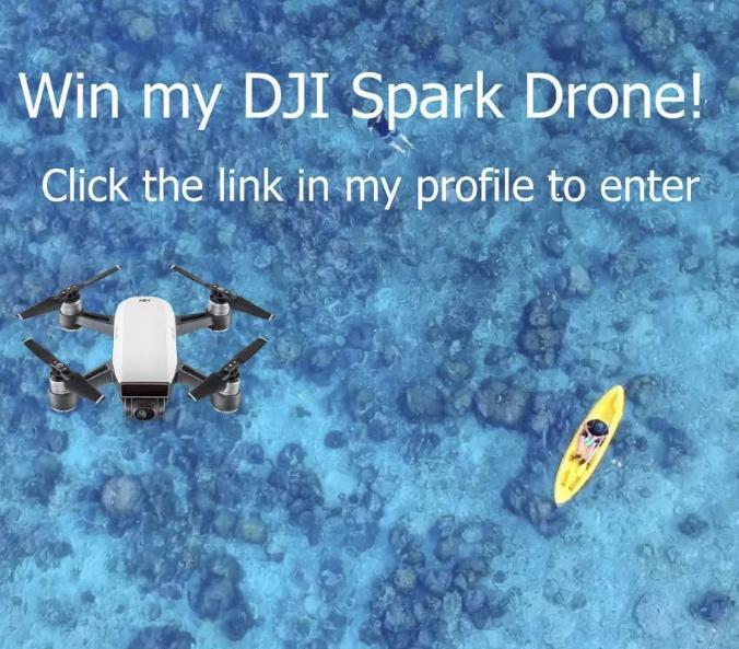 DJI Spark Drone Giveaway