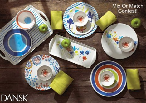 Dansk Mix It Up and Win Giveaway