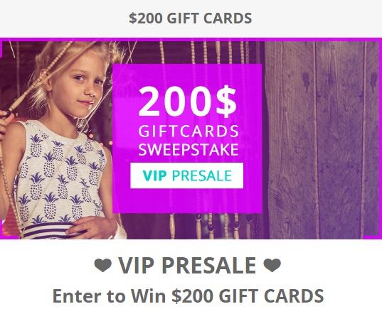 Deux Par Deux Contest - Win $200 Gift Certificate