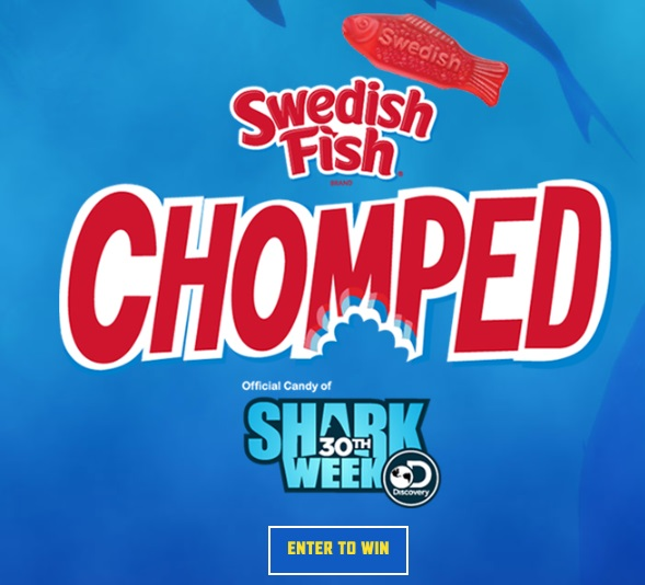 Discovery Channel Shark Week Chomped Sweepstakes
