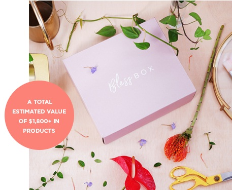 ELLE & Bless Box Giveaway - Win One Year Subscription To Bless Box