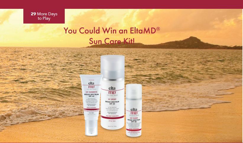 EltaMD Sun-Safe Instant Win Game Giveaway