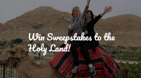 Good Shepherd Travel holy Land Tour Giveaway