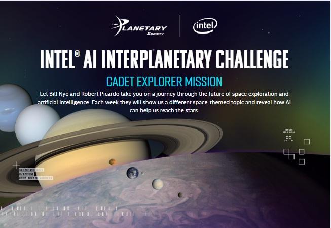Intel AI Interplanetary Challenge - Win Gaming Notebook