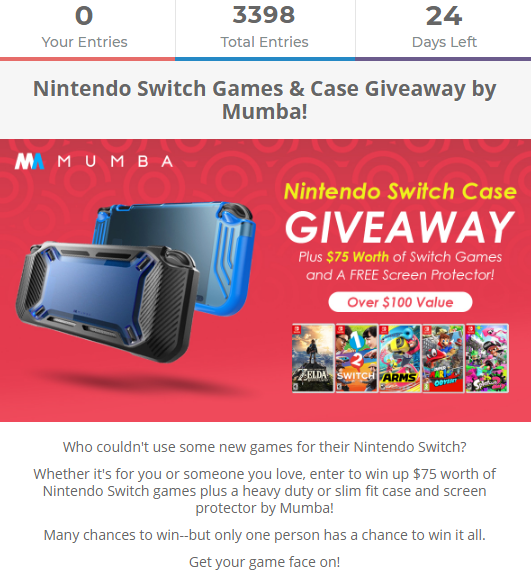 Nintendo Switch Games Gateway