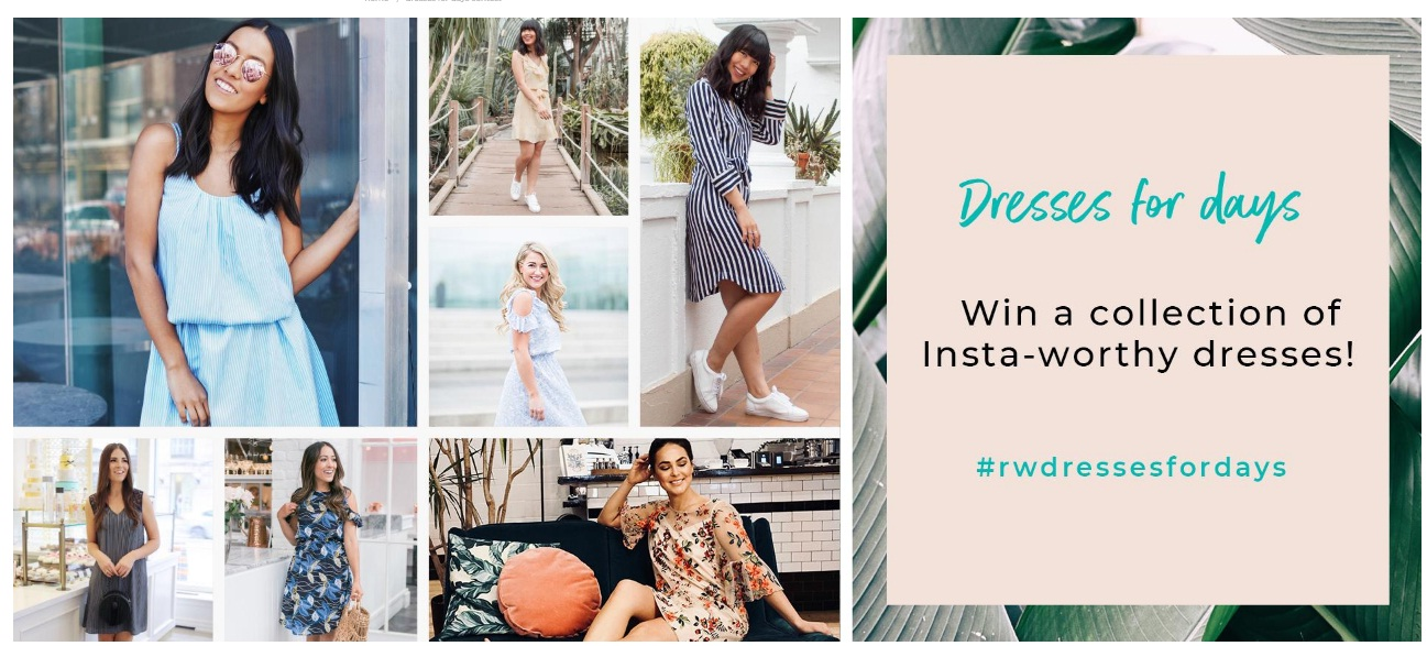 RW&CO Dresses For Days Contest - Enter For Win Gift Card