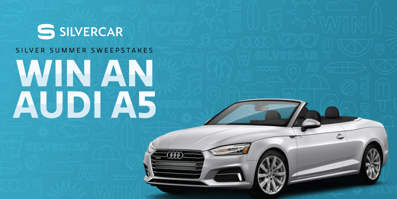 Silver Summer Sweepstakes - Chance To Win One Audi A5