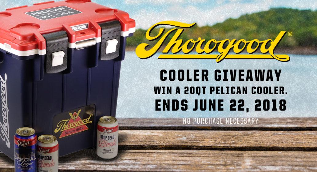 Thorogood Cooler Giveaway