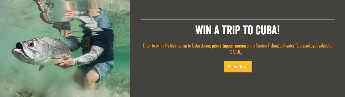 Yellow Dog Flyfishing Adventures Cuba Fishing Trip Giveaway - Win A Trip