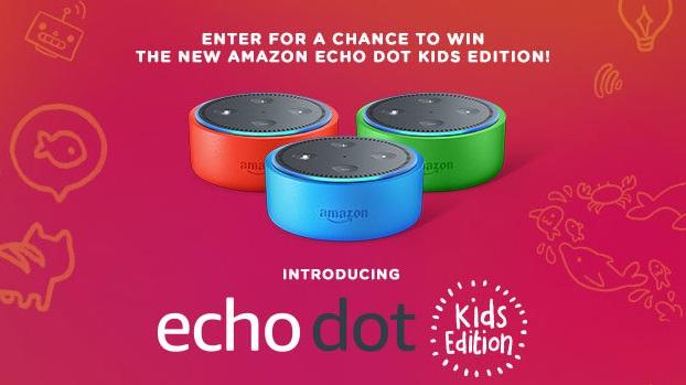 iHeartRadio And Amazon Giveaway - Win Amazon Echo Dot Kids Edition