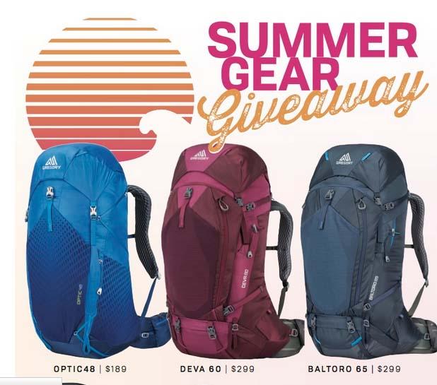 Blue Ridge Outdoors Summer Gear Giveaway