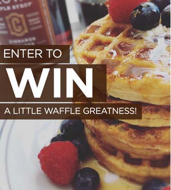 Crown Maple Syrup Mini Waffle Kit Giveaway