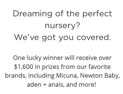 Dream Nursery Sweepstakes