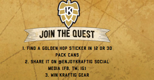 Find The Golden Hop And Win Sweepstakes
