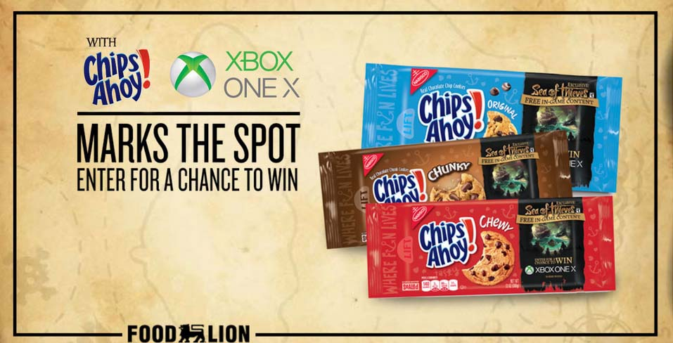 Food Lion The Chips Ahoy Sweepstakes