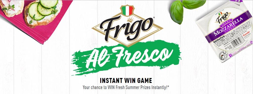 Frigo Al Fresco Instant Win Game And Sweepstakes