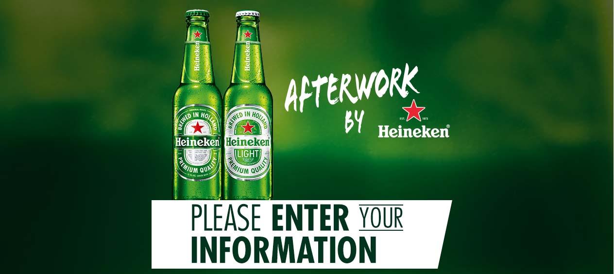 Heineken Light Afterwork Sweepstakes
