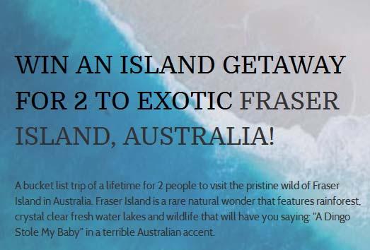 Island Getaway Sweepstakes