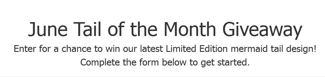 June 2018 Tail of the Month Giveaway
