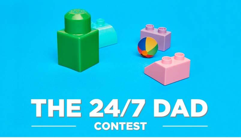 Mega Bloks 24/7 Dad Contest