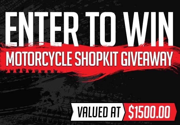 Motorcycle Shop Kit Giveaway