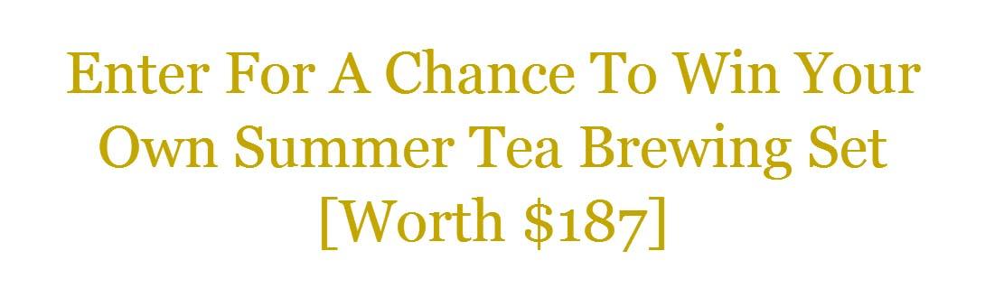 Nima Tea Sweepstakes