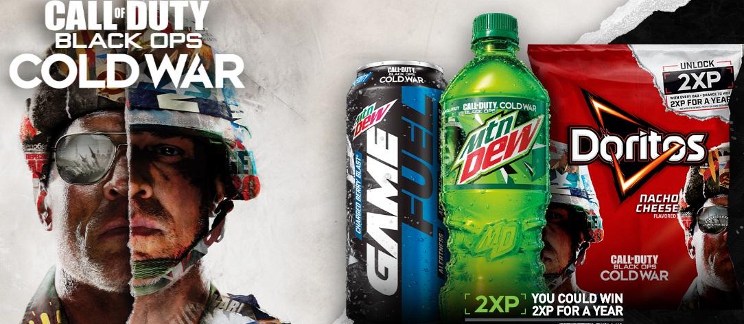 Pepsi-Cola Doritos Call Of Duty Black Ops Cold War Sweepstakes