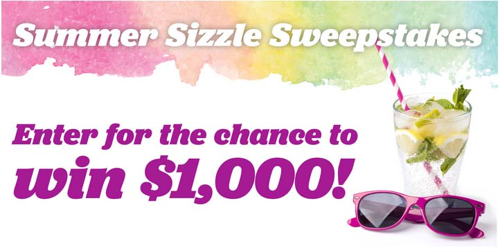 Summer Sizzle Sweepstakes