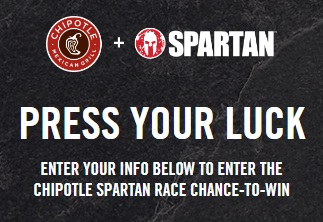 The Chipotle Spartan Chance To Win Sweepstakes