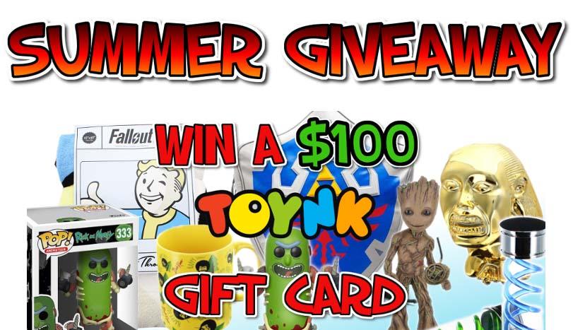 ToynkToys $100 Summer Sweepstakes