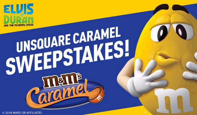 Unsquared Caramel Sweepstakes