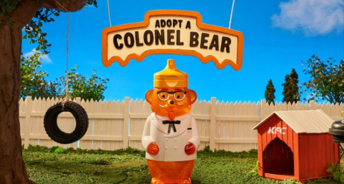 KFC Adopt A Colonel Bear Giveaway