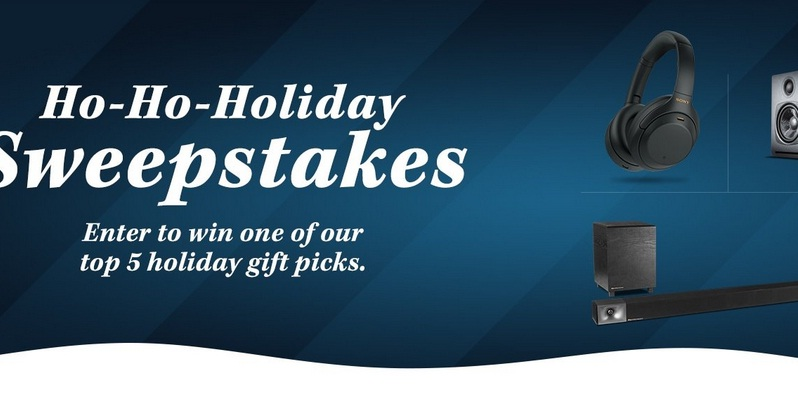 World Wide Stereo Ho-Ho-Holiday Sweepstakes