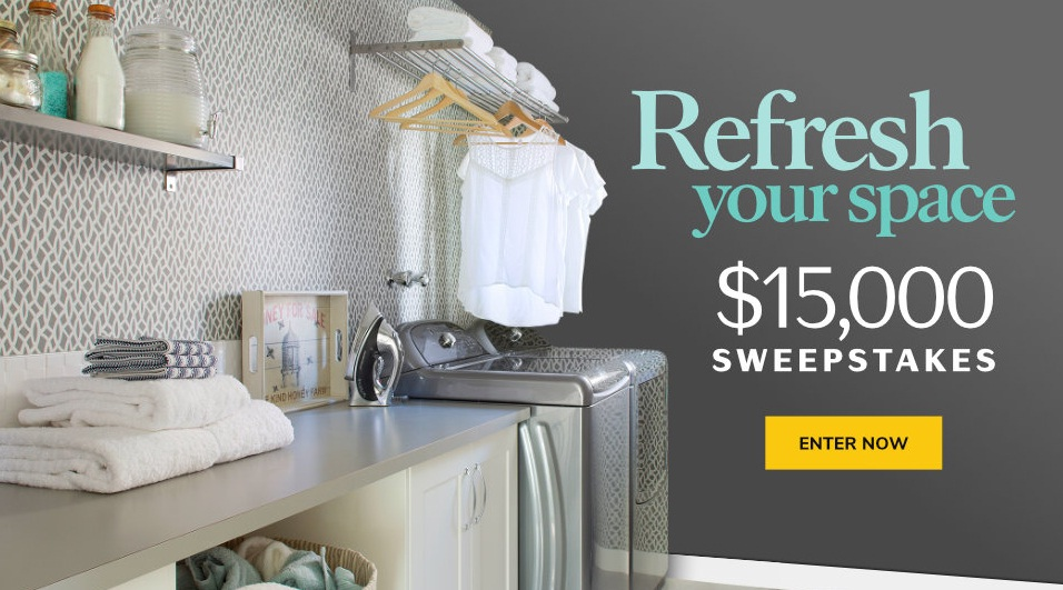 Martha Stewart Refresh Your Space $15000 Sweepstakes