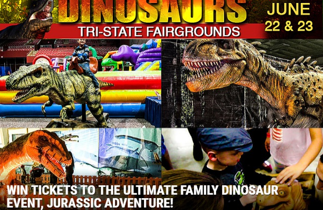 101.9 The Bull The Ultimate Family Dinosaur Event Contest
