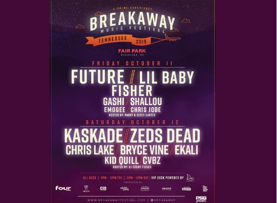 107.5 The River Breakaway Music Festival Online Contest