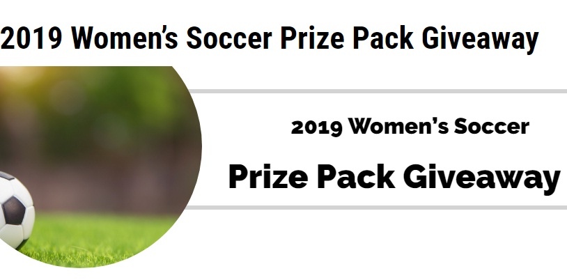 2019 Womens Soccer Prize Pack Giveaway
