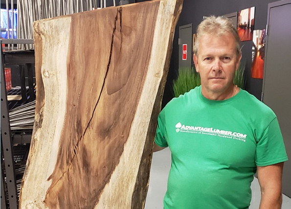 Advantage Lumber Slab Of The Month Giveaway